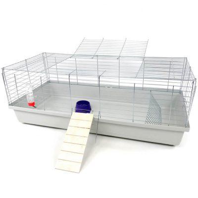 Klatka dla królika lub świnki morskiej 120cm z podestem