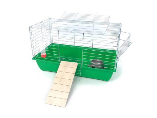 Klatka dla królika lub świnki morskiej 70cm z podestem
