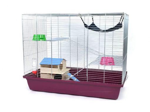 klatka dla fretki, szczura, szynszyla, koszatniczki, wiewiórki, myszoskoczka
