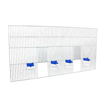 Front do budowy klatek dla ptaków 100 z poidełkami