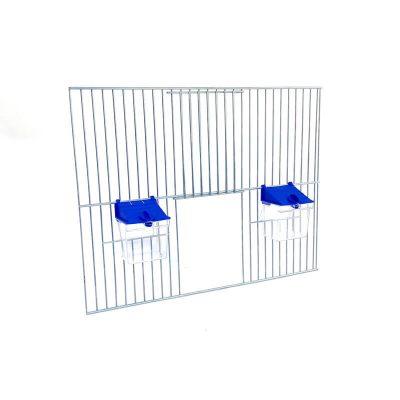 Front do budowy klatek dla ptaków 40x30 z poidełkiem