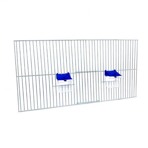 Front do budowy klatek dla ptaków 60x30 z poidełkami