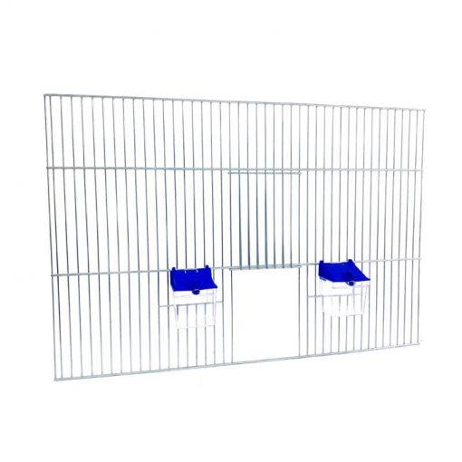 Front do budowy klatek dla ptaków 60x40 z poidełkami
