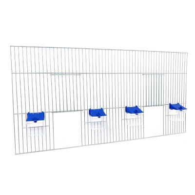 Front do budowy klatek dla ptaków 80x40 z poidełkami
