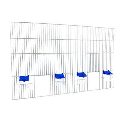 Front do budowy klatek dla ptaków 80x50 z poidełkami