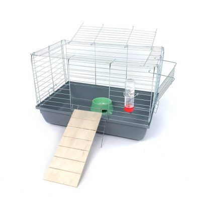Klatka dla królika lub świnki morskiej 60cm zpodestem