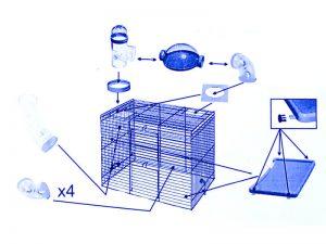 Instrukcja składania klatki dla chomika Rocky cz. 2