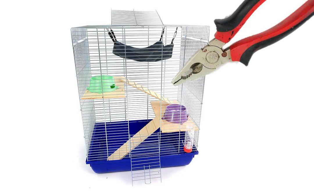 Instrukcja montażu klatki dla gryzoni iptaków typu Mega